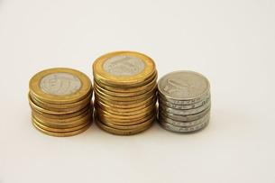ブラジルの硬貨の写真素材 [FYI04046185]