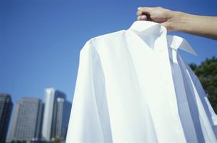 白いワイシャツの写真素材 [FYI04047922]