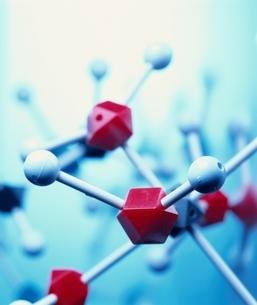 化学分子模型の写真素材 [FYI04048328]