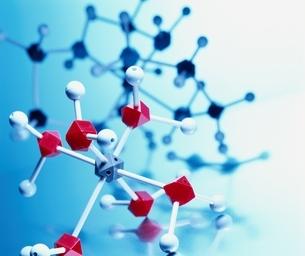化学分子模型の写真素材 [FYI04048330]