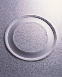 二重丸と白砂の写真素材 [FYI04048767]