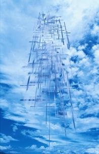 青空と雲のイラスト素材 [FYI04048813]