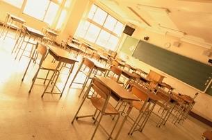 教室の写真素材 [FYI04048982]