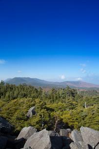 秋の高見石展望台の写真素材 [FYI04049506]