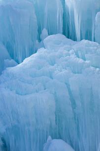 冬の大禅の滝氷柱の写真素材 [FYI04049521]
