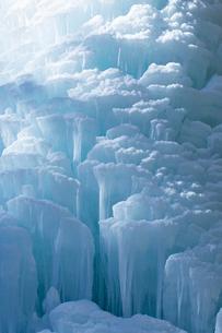 冬の大禅の滝氷柱の写真素材 [FYI04049523]