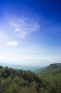 蓼科山と八ヶ岳連峰の写真素材 [FYI04049589]