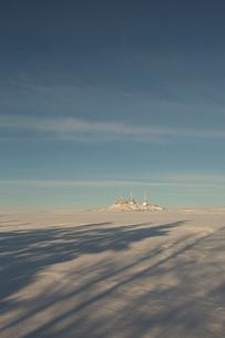 冬の美ヶ原高原の写真素材 [FYI04049688]