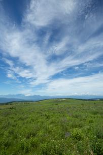 霧ケ峰高原より中央アルプスを望むの写真素材 [FYI04049756]