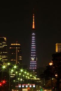 東京タワー ダイヤモンドヴェールイルミネーションの写真素材 [FYI04050111]