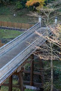 八王子城跡 曳橋の写真素材 [FYI04050921]