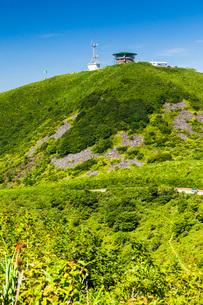 寒風山の山頂展望台の写真素材 [FYI04051057]
