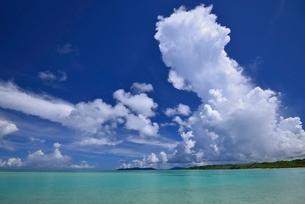 竹富島の海の写真素材 [FYI04051376]