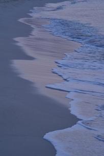 朝の渚の写真素材 [FYI04051486]