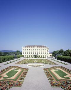 シェーンブルン宮殿の皇太子の庭の写真素材 [FYI04051562]