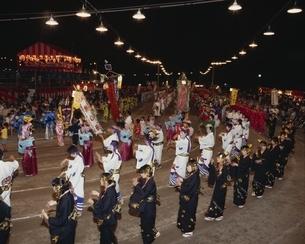 鶴崎盆踊り 大分県の写真素材 [FYI04051652]