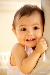 ハーフの赤ちゃんの写真素材 [FYI04051882]