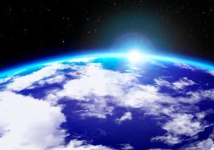 宇宙から見た地球の写真素材 [FYI04051959]
