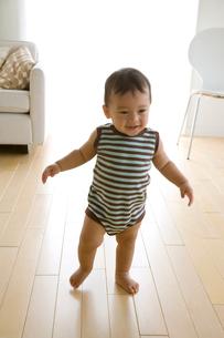 歩き始めの赤ちゃんの写真素材 [FYI04052019]