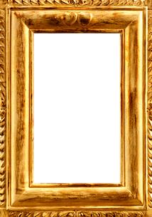 金色の額縁の写真素材 [FYI04052138]