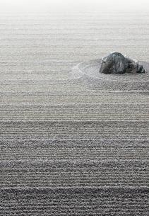 枯山水の写真素材 [FYI04052567]