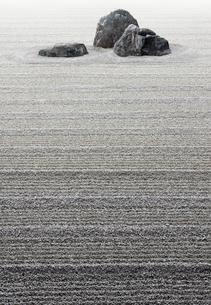 枯山水の写真素材 [FYI04052575]