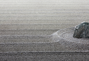 枯山水の写真素材 [FYI04052576]