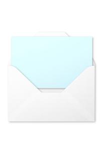手紙の写真素材 [FYI04052697]