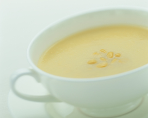 コーンスープの写真素材 [FYI04052855]