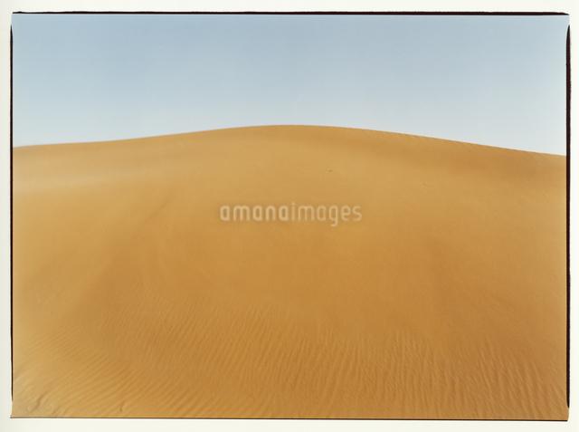 サハラ砂漠の風紋 モロッコの写真素材 [FYI04058185]