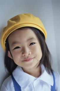 女の子幼稚園入園の写真素材 [FYI04058267]
