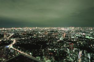 都内の夜景の写真素材 [FYI04058808]