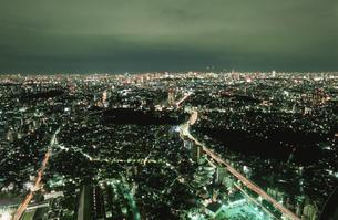 都内の夜景の写真素材 [FYI04058810]