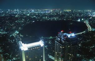 都内の夜景の写真素材 [FYI04058813]
