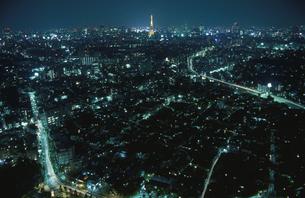 都内の夜景の写真素材 [FYI04058814]
