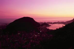 ドナ・マルタ展望台から見たロドリゴ・デ・フレイタス湖の写真素材 [FYI04059500]