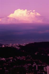 ドナ・マルタ展望台から見たグアナバラ湾の写真素材 [FYI04059501]