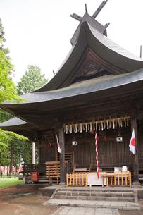 冨士御室浅間神社 里宮の写真素材 [FYI04060774]