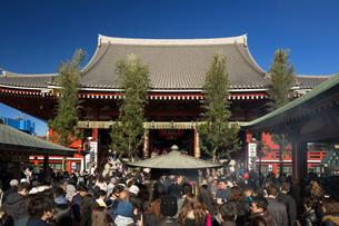 浅草寺の写真素材 [FYI04060812]