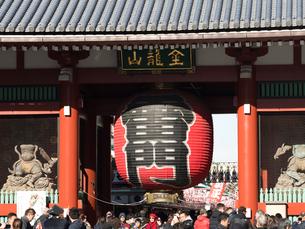 浅草 雷門の写真素材 [FYI04060818]