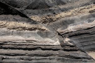 3月春 三浦半島城ヶ島の断層露頭の写真素材 [FYI04060826]