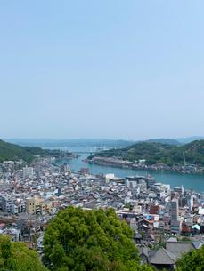 広島 尾道 千光寺から見た尾道水道の写真素材 [FYI04060944]