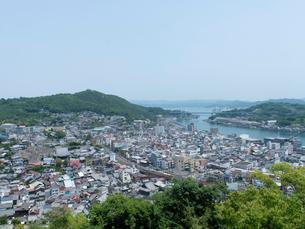 広島 尾道 千光寺から見た尾道水道の写真素材 [FYI04060945]