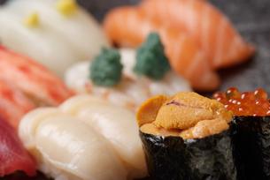 寿司の写真素材 [FYI04061200]
