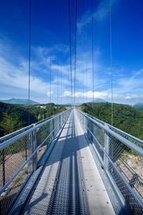九重夢大吊橋の写真素材 [FYI04061218]