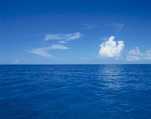 海面と水平線の写真素材 [FYI04061416]