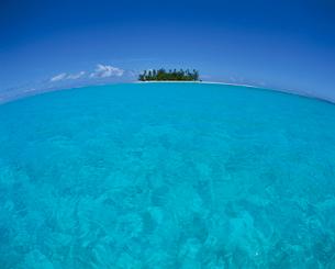 タヒチの島の写真素材 [FYI04061427]