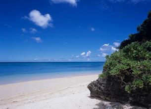 海と雲 石垣島の写真素材 [FYI04061677]