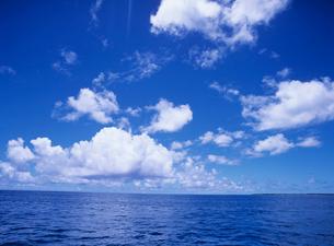 海面と空の写真素材 [FYI04061806]