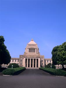 国会議事堂 東京都の写真素材 [FYI04061842]